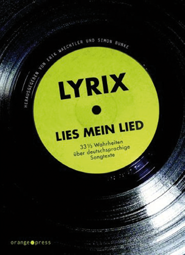 Waechtler/Bunke (Hrg.): LYRIX – Lies mein Lied