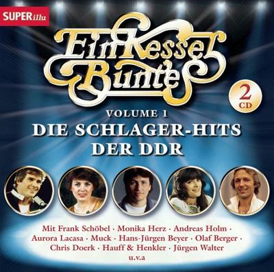 Ein Kessel Buntes, Volume 1, Die Schlager-Hits der DDR