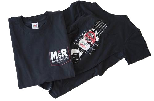 M&R-Shirt: T-Shirt und Girlie